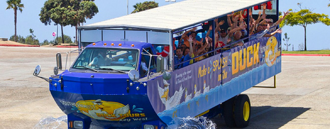 Key West Sightseeing Tours with Southernmost Ducks