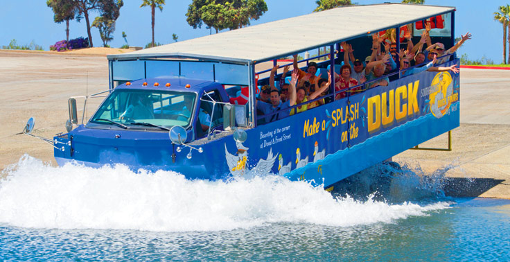 About Southernmost Duck Tours Splash Down