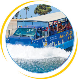 Southernmost Duck Tours Splash Down