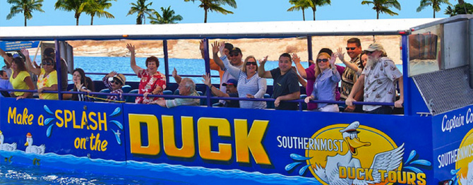 Group Events in Key West with Southernmost Ducks