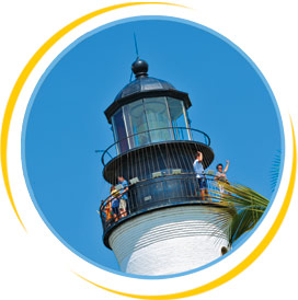 Photo of the Key West Lighthouse